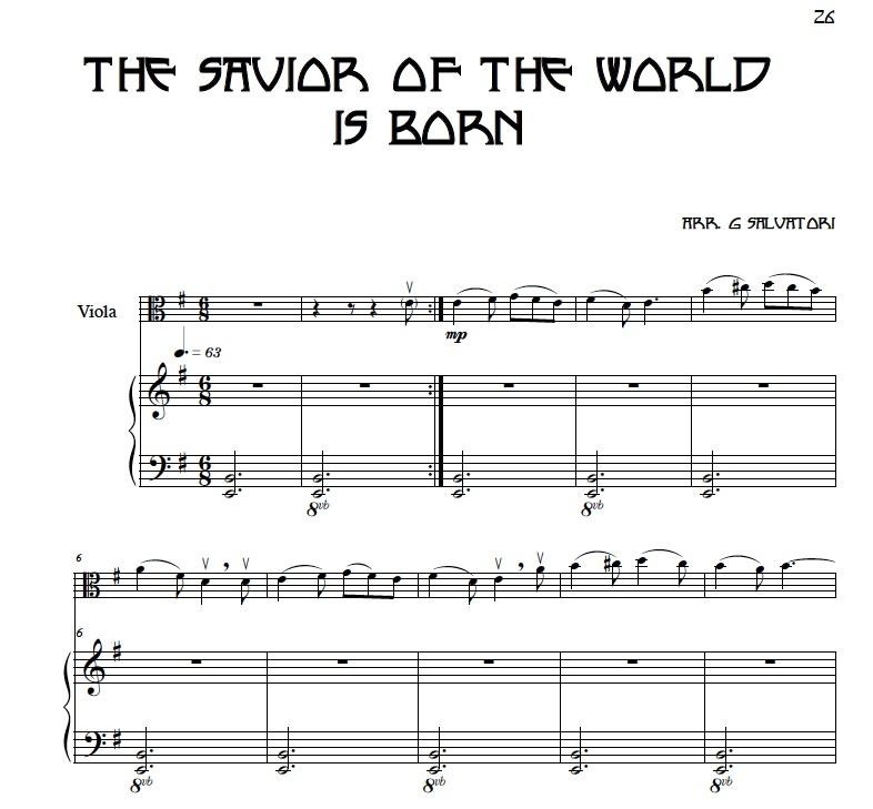 violin sheet music - viola sheet music
